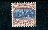 USAstamps Unused FVF US 1869 Pictorial Issue Scott 119 RG NH With Grill