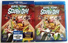 BIG TOP SCOOBY-DOO BLU RAY DVD 2 DISC SET RARE SLIPCOVER SLEEVE FREE SHIPPING