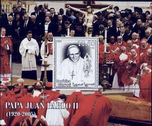 ** Pope John Paul II 1. anniv. of Death s/s Sahara Occident. 2006 MNH #SAH06-16