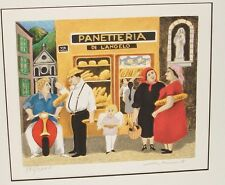 """GUY BUFFET """"PANETTERIA"""" LIMITED SIGNED LITHOGRAPH"""