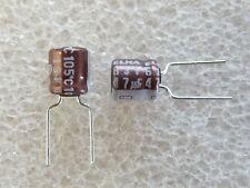 10 condensateurs 47uF 6,3V 105°C Elna