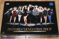SNSD 2011 GIRLS' GENERATION TOUR DVD + PHOTOBOOK SEALED