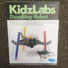 KidzLabs Doodling Vibrating Robot Mechanics Kit Drawing NIB Kids Building Toy