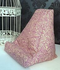 Purple Paisley Design Cushion Pillow Beanbag Bean Bag Suits Ipad Books & Tablets