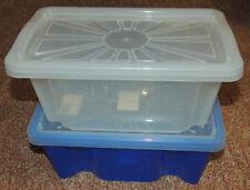 Plastik verschiedene MBX-Gr/ö/ßen transparent 2x 2L // 1x 4L // 1x 6L 4er-Set Aufbewahrungesboxen Multi Box IRIS