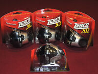 4 Brand New Sealed Zebco 202 Spincast Fishing Reels Spooled With Line Silver/Blk
