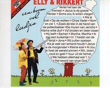 CD ELLY & RIKKERTeen boom vol liedjesEX+ (A2234)