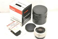 [Almost Unused] Canon EF Extender 1.4x Tele converter from JAPAN by DHL A451H