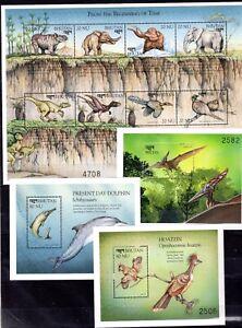 Bhutan - Wild Animals Fauna on postage stamps perf. MNH** F115