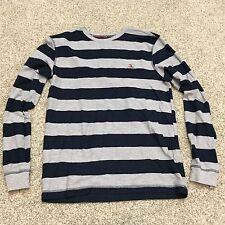 mens penguin munsingwear striped shirt long sleeve medium WM12