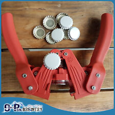 Twin Lever, Hand Held Bottle Top Capper, Home Brew, Crown Seal Bottle Caps, Beer
