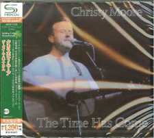 CHRISTY MOORE-THE TIME HAS COME-JAPAN  Ltd/Ed C41