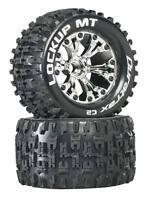 "DuraTrax DTXC3507 Lockup 2.8"" Mounted Tires / Wheels Front Jato Stampede Rustler"