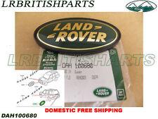 GENUINE LAND ROVER REAR EMBLEM DECAL BADGE DEFENDER 05-09 DAH100680
