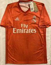 Adidas Real Madrid Away Red Soccer Jersey Adult Size: Small