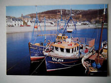 Ullapool Shore Street Old Postcard Publisher Whiteholme Dundee