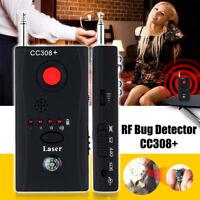 Hidden Camera GSM Audio Bug Detector Anti Spy Finder GPS Signal Lens RF Tracker