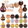 USB Electric Aromatherapy Oil Diffuser Ultrasonic Home Air Humidifier Purifier