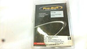 Suzuki Gsxr750 Pro-bolt Aluminum Fairing Kit Silver FSU149S