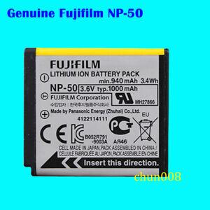 Genuine Original Fujifilm NP-50 Battery for NP-50A XF1 X10 XP100 XP150 XP170 S12