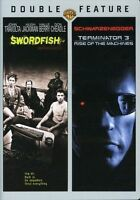 Swordfish/Terminator 3: Rise of the Machines (2-Disc Dvd Set,2008) FREE SHIPPING