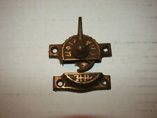 Reproduction Eastlake Cast Iron /& Brass Double Hung Sash Window Latch