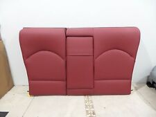 01-06 BMW E46 M3 Coupe Imola Red Rear Back Leather Seat OEM