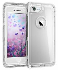 For IPhone 8 /7/6/6S Heavy Duty Tough Protective Clear Case fit Otterbox Clip