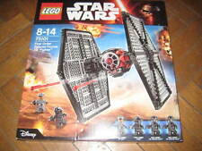 LEGO STAR WARS 75101 FIRST ORDER SPECIAL FORCES TIE FIGHTER new with 4 minifig