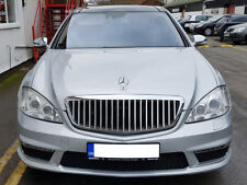 Mercedes W221 S320 S500 S550 S350 S63 Maybach Grille Grill S600 BLK