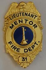 USA - FEUERWEHR - Mentor Fire Department - Lieutenant - REPLIK - ANSEHEN