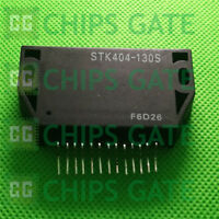 2PCS STK404-130S Encapsulation:SIP-ZIP,Rotary Switch; Contact Current
