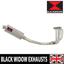 KAWASAKI ZRX 1200 Full Exhaust System 300mm Oval Stainless Silencer 300SS