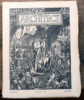 OLD MAGAZINE The Architect August 1926 best work being produced in America