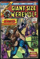 Giant Size Werewolf #2 ORIGINAL Vintage 1974 Marvel Comics Frankenstein