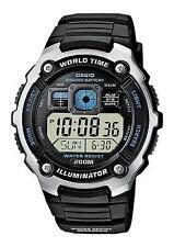 Casio Armbanduhren mit 24-Stunden-Zifferblatt und mattem Finish