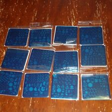 Clear Jelly Stamper zodiac collection new astrology sign nail stamping plate
