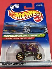 1999 Hot Wheels Treasure Hunt Express Lane Limited Edition # 12 Of 12
