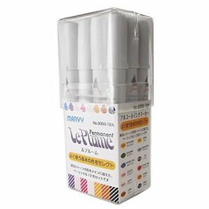 New pen marvy Rupurumu 12 colors basic set 3000-12A alcohol ink marker art F / S