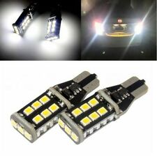 T15 W16W CANBUS 921 LED Tail Reverse Parking Light Bulbs White No Error 2PCS UK