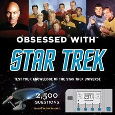 Star Trek Test Your Knowledge - 2500 Trivia Questions Book/ Game