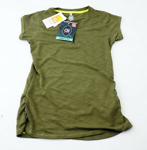 Club Ride Deer Abby Women's Short Sleeve Cycling Jersey Top XS Olive