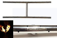 H30: Lifetime Warranted 30″ H-BURNER (4row flames) 316 STAINLESS FIRE TABLE/ PIT