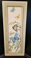 BUTTERFLY PAINTING WATERCOLOR FRAMED by EVELYN MOTT (American 1907-2005)  SIGNED