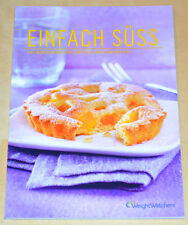 Weight Watchers LIBRO CUCINA - Backbuch Semplicemente dolce propoints Plan 2014