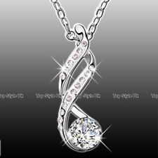 Infinity Crystal Necklace Love Wife Daughter Mother Women Xmas Gifts For Her Z3