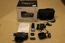 Canon Vixia Gx10 4K Camcorder with original box,accessories,Uv filter, xtra batt