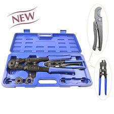 "IWISS ASTM F1807 IWS-FA Pex Pipe Crimping Tool  with Pex Ring Remove Tool 3/8""-1"