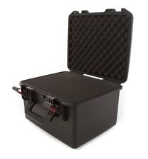 Waterproof Hard Plastic Camera + Accessory Case with Foam and Handle