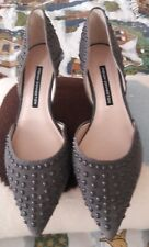 FRENCH CONNECTION STUDDED KITTEN HEELS PUMPS IN GENTLE USED CONDITION